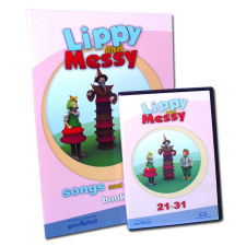 Lippy and Messy - Songs and Games 3 (21-31) + dárek