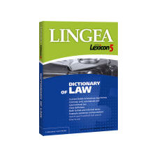 Lingea Lexicon 5 Dictionary of Law + dárek